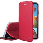 Etui Ibroz Samsung A21s Cuir rouge