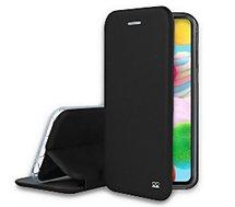 Etui Ibroz  Samsung A41 Cuir noir