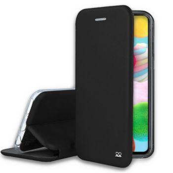 Ibroz Samsung A41 Cuir noir