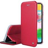 Etui Ibroz Samsung A41 Cuir rouge
