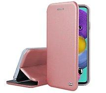 Etui Ibroz  Samsung A51 Cuir rose