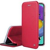 Etui Ibroz Samsung A51 4G Cuir rouge