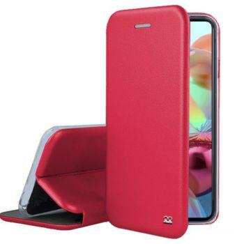 Ibroz Samsung A71 Cuir rouge
