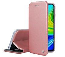 Etui Ibroz  Xiaomi Note 9 Cuir rose