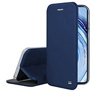 Etui Ibroz  Xiaomi Note 9 Pro Cuir bleu