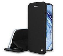Etui Ibroz  Xiaomi Note 9 Pro Cuir noir