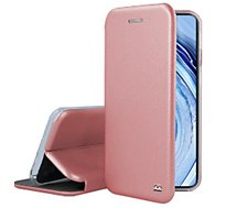 Etui Ibroz  Xiaomi Note 9 Pro Cuir rose