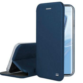 Ibroz Xiaomi Mi 10 Cuir bleu