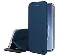 Etui Ibroz  Xiaomi Mi 10 Pro Cuir bleu