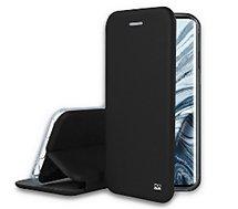 Etui Ibroz  Xiaomi Mi Note 10  Pro Cuir noir