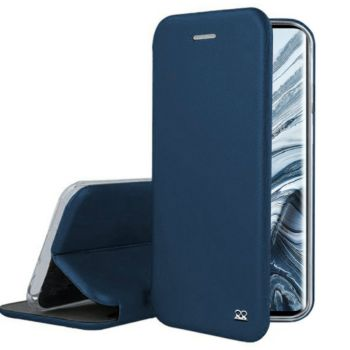 Ibroz Xiaomi Mi Note 10 Cuir bleu