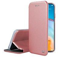 Etui Ibroz  Huawei P40 Lite Cuir rose
