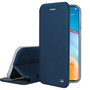 Ibroz Huawei P40 Pro Cuir bleu