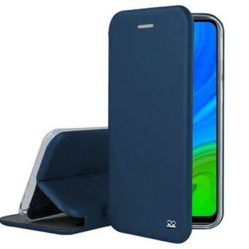 Ibroz Huawei P Smart 2020 Cuir bleu