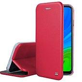 Etui Ibroz Huawei P Smart 2020 Cuir rouge