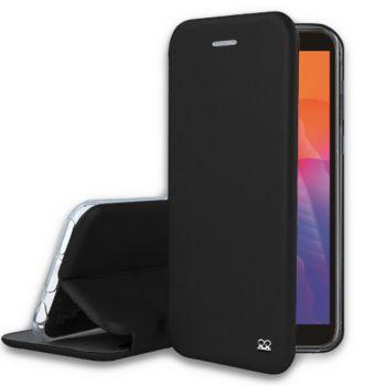 Ibroz Huawei Y5P Cuir noir
