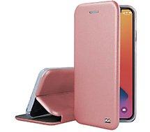 Etui Ibroz  iPhone 12 mini Cuir rose gold