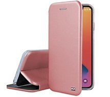 Etui Ibroz  iPhone 12/12 Pro Cuir rose gold