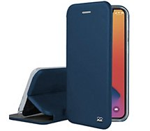 Etui Ibroz  iPhone 12 Pro Max Cuir bleu