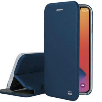 Ibroz iPhone 12 Pro Max Cuir bleu