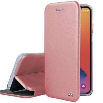 Ibroz iPhone 12 Pro Max Cuir rose gold