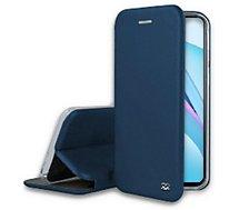 Etui Ibroz  Xiaomi Mi 10T Lite Cuir bleu