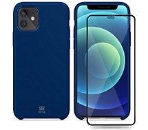 Coque Ibroz  iPhone 12/12 Pro Coque bleu nuit