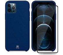 Coque Ibroz  iPhone 12 Pro Max Coque bleu nuit