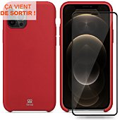 Coque Ibroz iPhone 12 Pro Max Coque rouge