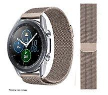 Bracelet Ibroz  Samsung/Huawei 22mm Maille gold
