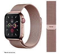 Bracelet Ibroz  Apple Watch 38/40/41mm Maille rose gold