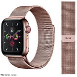Bracelet Ibroz  Apple Watch 44mm Maille rose gold