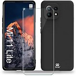 Coque Ibroz  Xiaomi Mi 11 Lite 5G Coque noir