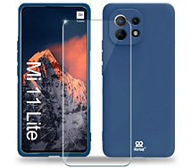 Coque Ibroz  Xiaomi Mi 11 Lite 4G/5G Coque bleu