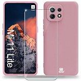Coque Ibroz  Xiaomi Mi 11 Lite 5G Coque rose