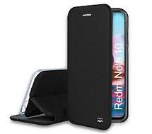 Etui Ibroz  Xiaomi Redmi Note 10/10s cuir noir