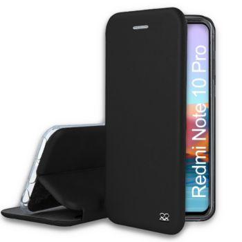 Ibroz Xiaomi Redmi Note 10 Pro cuir noir