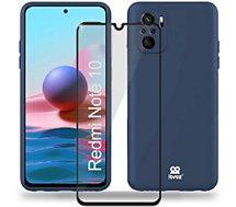 Coque Ibroz  Xiaomi Redmi Note 10/10s Coque bleu