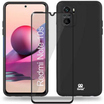 Ibroz Xiaomi Redmi Note 10/10s Coque noir