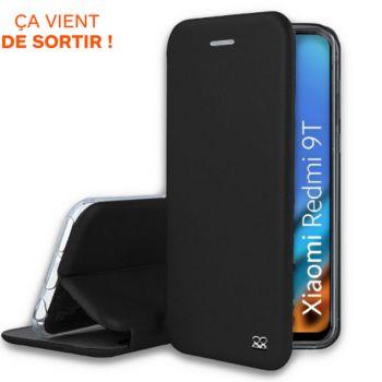 Ibroz Xiaomi Redmi 9T Etui cuir noir