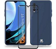 Coque Ibroz  Xiaomi Redmi 9T Coque bleu