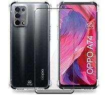 Coque Ibroz  Oppo A74 Coque transparente