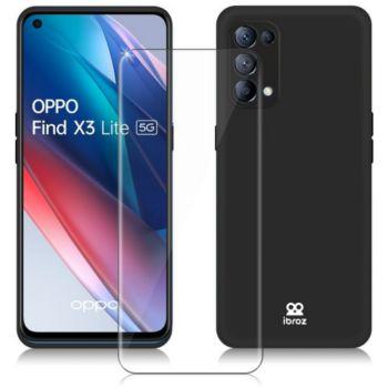 Ibroz Oppo Find X3 Lite Coque noir