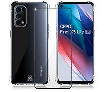 Coque Ibroz  Oppo Find X3 Lite Coque transparent