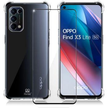 Ibroz Oppo Find X3 Lite Coque transparent