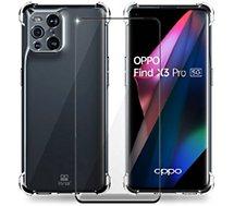 Coque Ibroz  Oppo Find X3 Pro Coque transparent