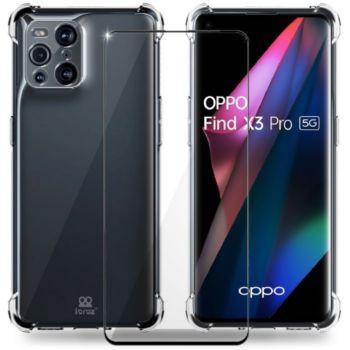 Ibroz Oppo Find X3 Pro Coque transparent