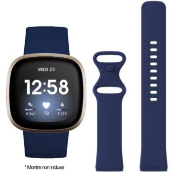 Ibroz Fitbit Versa 3/Sense Silicone bleu