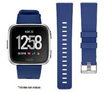 Bracelet Ibroz  Fitbit Versa/Versa 2 Silicone bleu