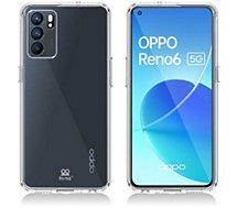 Coque intégrale Ibroz  Oppo Reno 6 transparent